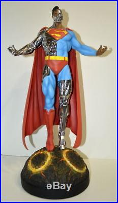CYBORG SUPERMAN 21 STATUE #26/50 Limited Edition of 50 pcs 14 Scale Rare