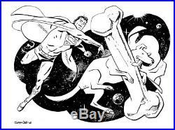 Chris Samnee Superman and Krypto