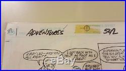 Comic Art Original Superman #542 Page 4
