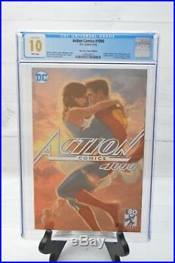 DC Action Comics 1000 CGC 10.0 GEM MINT HIGHEST GRADED Third Eye Iss Superman
