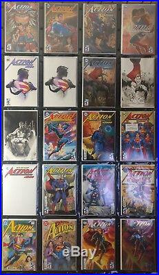 DC Action Comics #1000 Huge 35 variant cover lot! Almost complete