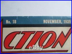 DC Action Comics #18 Early Superman 1939