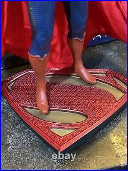DC COLLECTIBLES MAN OF STEEL SUPERMAN 16 SCALE ICON STATUE Gentle Giant Studios
