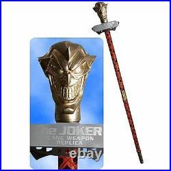 DC COMICS JLA TROPHY ROOM BATMAN JOKER's CANE LIFE size 11 Replica Statue Bust