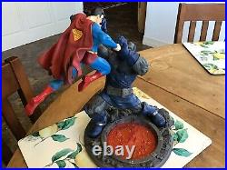 DC Collectibles Superman Vs. Darkseid Statue Cheapest on ebay