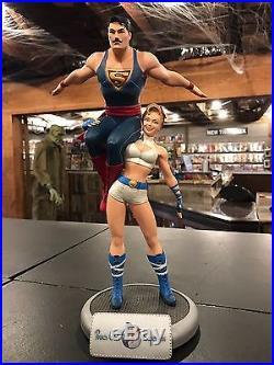 DC Comics Bombshells Power Girl & Superman Statue 14