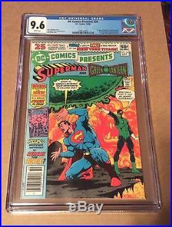 DC Comics Presents #26 CGC 9.6 1980 1st Appearance Cyborg, Raven, Starfire