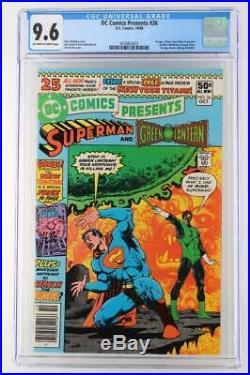 DC Comics Presents #26 CGC 9.6 NM+ DC 1980 1st App New Teen Titans