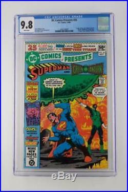 DC Comics Presents #26 -CGC 9.8 NM+ DC 1980 1st App New Teen Titans