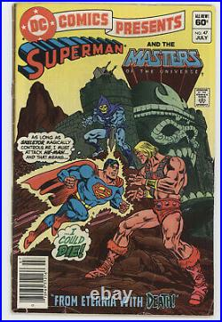 DC Comics Presents 47 1982 VG FN 1st He-Man Masters Universe Superman