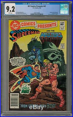DC Comics Presents #47 CGC 9.2 (W) 1st Appearance of He-Man and Skeletor