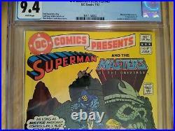 DC Comics Presents #47 CGC 9.4 1st Appearance He-Man & Skeletor