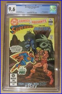 DC Comics Presents #47. CGC 9.6. Masters of the Universe. 1st He-Man & Skeletor