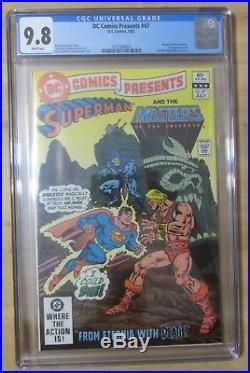DC Comics Presents #47. CGC 9.8. Masters of the Universe. 1st He-Man & Skeletor