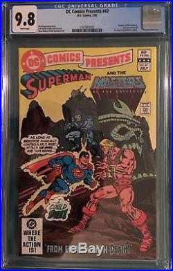 DC Comics Presents 47 CGC 9.8first appearance of Skeletor and He-Man in comics