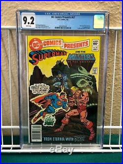 DC Comics Presents 47 First Appearance Of He-Man And Skeletor Newsstand Edition