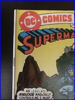 DC Comics Presents 47, Superman and the MOTU, 1st HE-MAN & SKELETOR