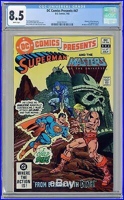 DC Comics Presents (DC) #47A 1982 1st Printing CGC 8.5 2036791011