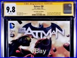 DC Comics SUPERMAN BATMAN 50 CGC SS 9.8 Variant Set Bermejo JUSTICE WONDER WOMAN