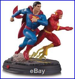 DC Comics Superman vs. The Flash Racing Battle Statue