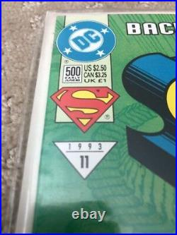 DC Comics The Adventures of Superman #500 Back From The Dead Comic Book 1993 #11