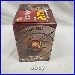 DC Comics The Flash Museum Barry Allen Prop Life Replica Ring Jla Justice League