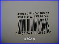 DC DIRECT BATMAN LIFE SIZE UTILITY BELT PROP REPLICA NEW! Statue TROPHY ROOM JLA