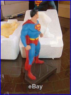 DC DIRECT/BOWEN DESIGN SUPERMAN PORCELAIN MINI STATUE by JURGENS & BOWEN! MIB