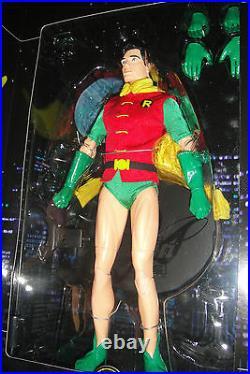 DC DIRECT ROBIN CLASSIC 13 DELUXE COLLECTOR FIGURE 1/6 SCALE MIB Batman Joker