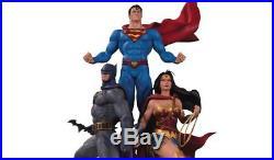 DC Designer Series Trinity Statue by Jason Fabok