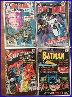 DC Detective Comics 400 402 BATMAN 234 251 Two-Face Joker SUPERMAN 199 Flash Lot