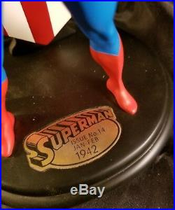DC Direct Collectible Superman No. 14 Sold Out Statue Classic Free S&H