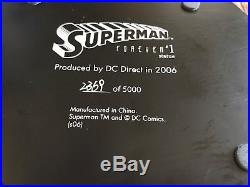 DC Direct SUPERMAN FOREVER #1 Full-size statue Alex Ross #2369/5000 with Box & COA
