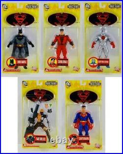 DC Direct Superman Batman Series 1 Complete Set Action Figures Public Enemies