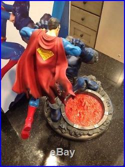 DC Direct Superman vs Darkseid Statue, Second Edition