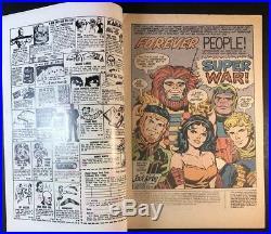 DC Forever People #1 & #2 7.5/VF- 1st App Infinity Man, Super Man MantIs Silver
