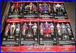 DC JUSTICE LEAGUE JLA 8 Mini MAQUETTE/Statue SET BATMANSUPERMANWONDER WOMAN