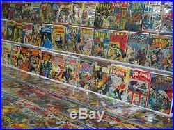 DC Mid-Grade Silver Bronze Comic Collection Kirby JLA Superman Hawkman 1