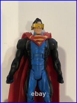 DC Universe Classics Return Superman lot Steel Cyborg Superboy Eradicator DCUC