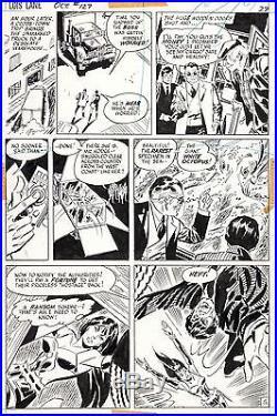 DON HECK Superman Girlfriend Lois Lane #127 Original DC Comic Bronze Art 1972