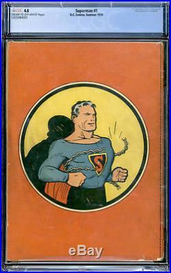 D. C. Comics Superman #1 CGC 4.0
