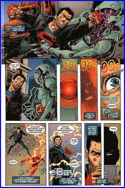 Dan Jurgens/ Bill Sienkiewicz 2016 Superman, Flash Original Art! Free Shipping