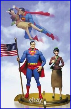 Dc Direct Silver-Age Superman and Lois Lane Deluxe 6 inch Action Figure Set 2001