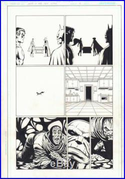 Death of the New Gods #2 p. 9 Batman & Superman 2007 art by Jim Starlin