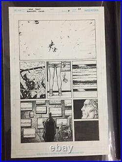 Doomsday Clock 8 Original Art Batman Watchmen Superman