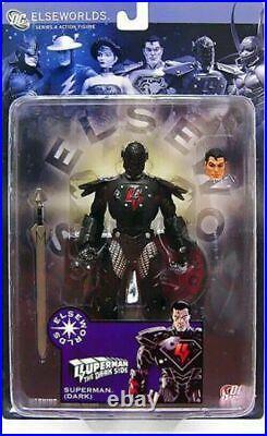 Elseworlds Series 4 Dark Side Superman Evil Variant Action Figure MIP