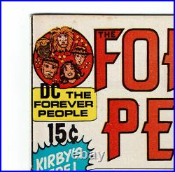FOREVER PEOPLE NO. 1 1st FULL AP. DARKSEID KIRBY, 71 KEY ONE OWNER, BEAUTIFUL