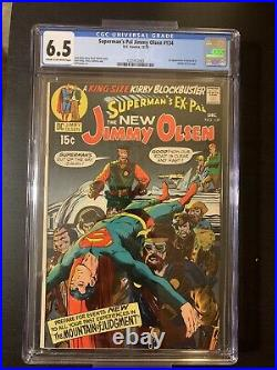 First Appearance Of Darkseid In Supermans Pal Jimmy Olson #134 CGC Rated 6.5