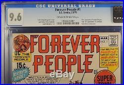 Forever People #1 CGC 9.6 -Jack Kirby- 1st full Darkseid-High Grade