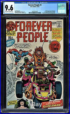 Forever People #1 Cgc 9.6 Superman Cover 1st Full App Forever People #2075371022